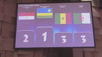 Rwanda wins first gold in African Karate Championships