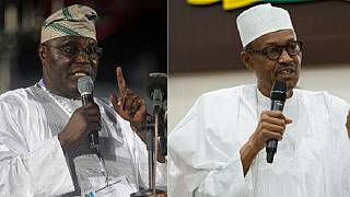 Nigerian ex-VP Atiku says 'power-drunk' Buhari wants to cling on to power