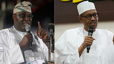 Nigerian ex-VP Atiku says 'power-drunk' Buhari wants to cling on to power
