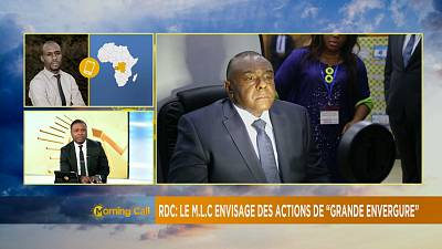 Inéligibilité de Bemba : son parti envisage des actions [The Morning Call]