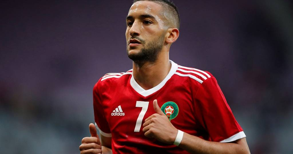 Morocco U0026 39 S Hakim Ziyech Named Best Footballer In Dutch