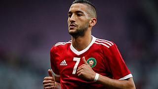 Morocco's Hakim Ziyech named best footballer in Dutch league