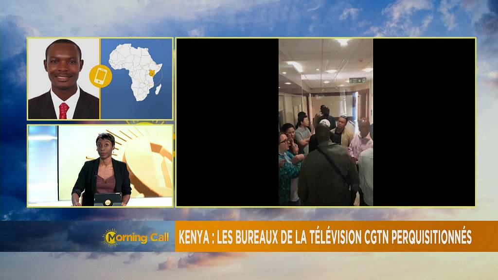 Cgtn africa bureau office raided by police in nairobi [the morning