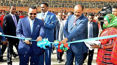 Ethiopia reopens its embassy in Eritrean capital Asmara