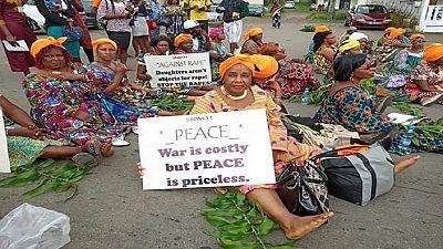 Cameroun : à Bamenda, les femmes réclament un retour à la paix
