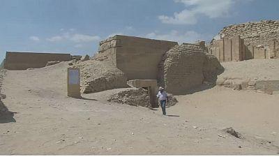 L'Égypte dévoile des tombes de 4200 ans
