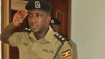 Ugandans attack govt officials at funeral of slain police chief