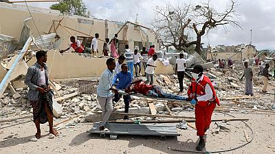 At least six dead as suicide car bomb targets local gov't office in Somalia