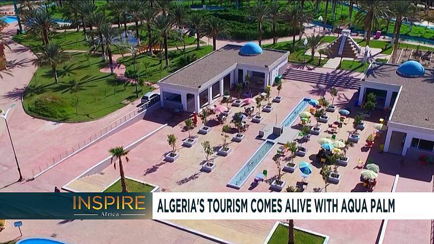 Video algeria s tourism comes alive with aqua palm inspire