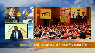 Angola: Dos Santos quitte la tête du MPLA [The Morning Call]