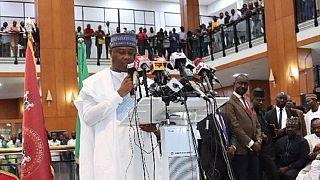 Nigeria Senate president submits presidential nomination forms