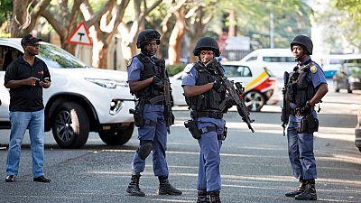 Bond spectaculaire de la criminalité en Afrique du Sud