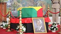 Photos: Kofi Annan laid in state, mourners pay final respects