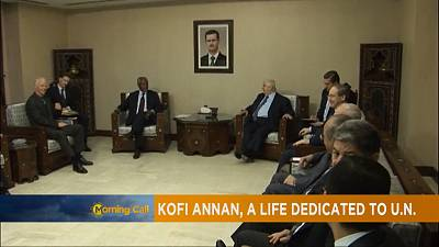 Kofi Annan laid to rest in Ghana [The Morning Call]