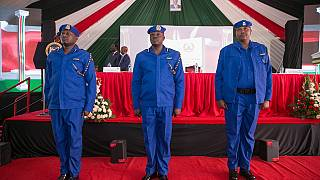 Photos: Kenya's new police uniform to make officers 'more visible'