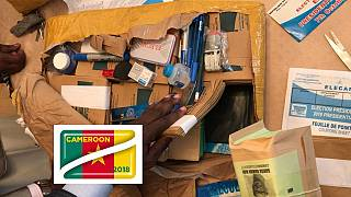 Made in Germany: Cameroon presidential poll materials ready