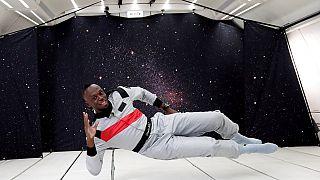"""Usain Bolt """"défié"""" par la gravité"""