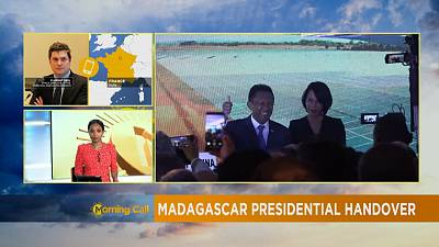 Madagascar's president hands over power to interim [The Morning Call]