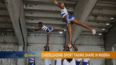 Nigeria's cheerleading sports team [The Morning Call]