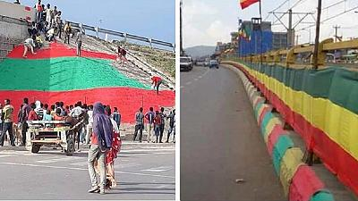 Ethiopian activists fume at 'useless' flag clashes, death reported