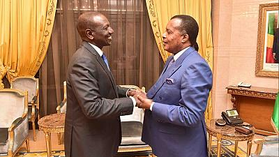 Au Congo, le vice-président kényan William Ruto vante les atouts du libre-échange