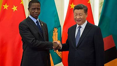 Zambia president slams 'reckless propaganda' on China relations