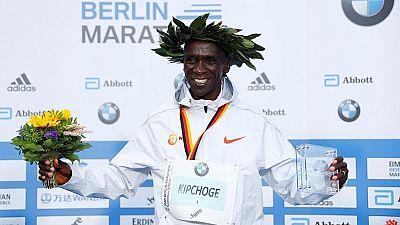 Marathon de Berlin : nouveau record du Kényan Kipchoge