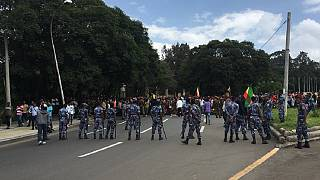 Addis Ababa at standstill as Ethiopians protest deadly violence