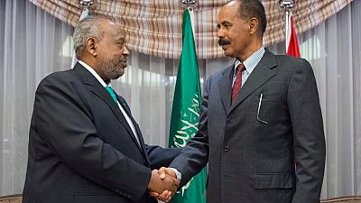 Eritrea, Djibouti leaders hold historic meeting in Saudi Arabia