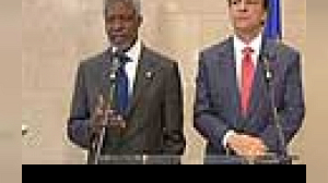 Annan expects Europeans in Lebanon force