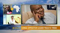 Congo political prisoner Paulin Makaya released [The Morning Call]