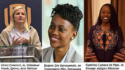 Africanews poll: Trend of young African female ministers welcomed