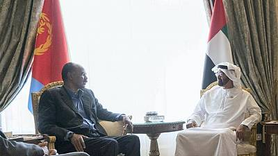 Eritrean president Afwerki returns to UAE on official visit