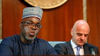 Nigeria football body retains Amaju Pinnick as president