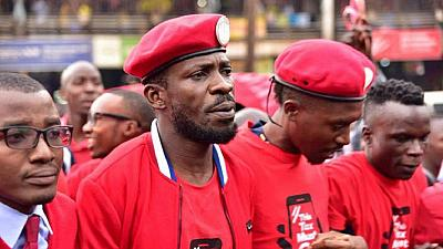 Ugandan govt tightens security as Bobi Wine returns
