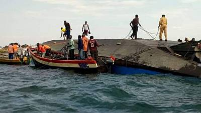 Scores feared dead as Tanzanian ferry sinks in Lake Victoria