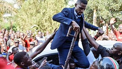 """Ouganda : """"mon combat n'est pas achevé"""" Bobi Wine"""