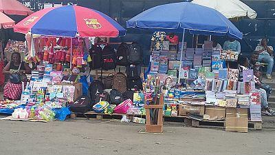 Photos: Congo Pointe Noire's roadside bookshops as schools reopen