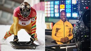 From tracks to Olympic studios: Ghana's skeleton athlete plays host