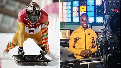 Tracks to studios: Ghana's skeleton athlete hosts Olympic show