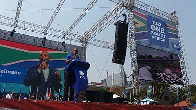 Afrique du Sud : l'opposition lance sa campagne pour les élections de 2019
