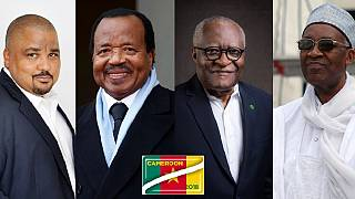 Main candidates in Cameroon's 2018 presidential polls