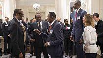 Basketball - A New York, Kagame s'engage à mobiliser l'Afrique derrière la NBA