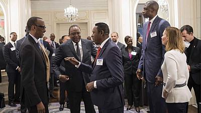 Basketball - A New York, Kagame s'engage à mobiliser l'Afrique derrière la NBA