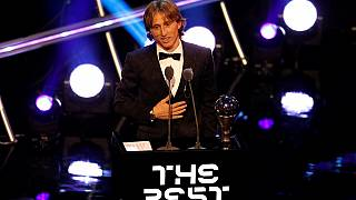 Modric beats Salah, Ronaldo to Best FIFA Men's Player 2018