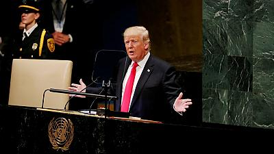 A la tribune de l'ONU, Donald Trump conteste la légitimité de la CPI