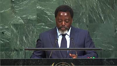 Three things DRC's Joseph Kabila told delegates at United Nations