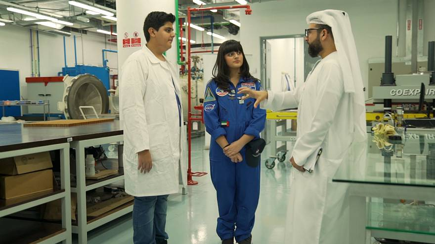 Meet Adeeb and Dana Alblooshi, two super smart UAE siblings