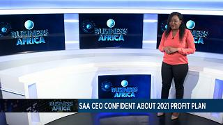 """South African Airways """" rentable """" dès 2021 [Business Africa]"""