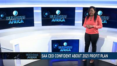 South African Airways CEO confident in 2021 profit plan [Business Africa]